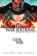 Civil War Punisher War Journal New Printing