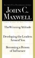 Maxwell 3 In1 Special Edition The Winning Attitude Developing the Leaders Around You Becoming a Person of Influence