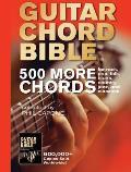 Guitar Chord Bible 500 More Chords