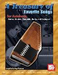 A Treasury of Favorite Songs for Autoharp, Guitar, Ukulele, Mandolin, Banjo, and Keyboard