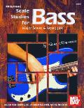 Scale Studies for Bass: Major Scales & Arpeggios