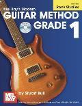 Mel Bay's Modern Guitar Method Grade 1, Rock Studies [With CD (Audio)]