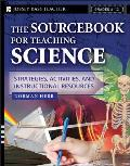 Sourcebook for Teaching Science Grades 6 12 Strategies Activities & Instructional Resources