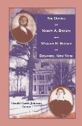 The Diaries of Nancy A. Brown and William H. Brown of Edwards, New York