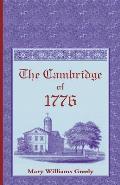 The Cambridge of 1776