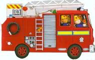 Fire Engine Jumbo Shaped Board Books