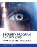 Security Program & Policies Principles & Practices