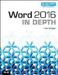 Word 2016 In Depth includes Content Update Program