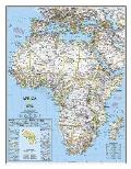 National Geographic Reference Map||||Africa Classic [Laminated]
