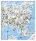 National Geographic Reference Map||||National Geographic: Asia Classic Wall Map - Laminated (33.25 x 38 inches)