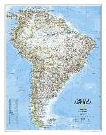 National Geographic Reference Map    South America Classic [Laminated]