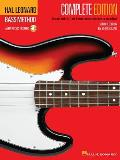 Hal Leonard Bass Method Complete 2nd Edition With 3 CDs