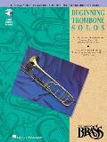 The Canadian Brass Book of Beginning Trombone Solos: With Online Audio of Performances and Accompaniments