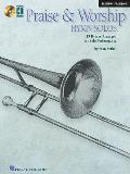 Praise & Worship Hymn Solos: Trombone/Baritone [With CD (Audio)]
