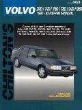 Volvo 240 740 760 780 940 960 Series Repair Manual 1990 1993