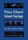 Prince Edward Island Sayings