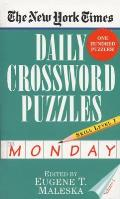 New York Times Daily Crossword Puzzles Monday Volume I