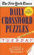 New York Times Daily Crossword Puzzles Tuesday Volume I
