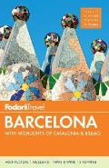 Fodors Barcelona With Highlights of Catalonia & Bilbao