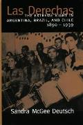 Las Derechas: The Extreme Right in Argentina, Brazil, and Chile, 1890-1939