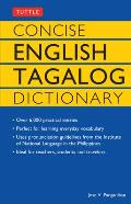 Concise English Tagalog Dictionary Concise English Tagalog Dictionary