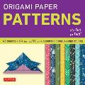 Origami Paper Pattern Perfect for Small Projects or the Beginning Folder