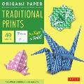Origami Paper Traditional Prints 49 Sheets