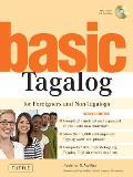 Basic Tagalog For Foreigners & Non Tagalogs With CD