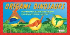 Origami Dinosaurs With 2 Paperback Books & 98 Sheets