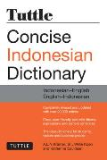 Tuttle Concise Indonesian Dictionary: Indonesian-English/English-Indonesian