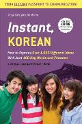 Instant Korean How to Express...