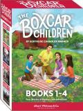 Boxcar Children Set Books 1 2 3 4