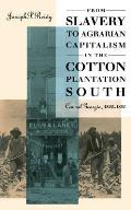 From Slavery to Agrarian Capitalism in the Cotton Plantation South: Central Georgia, 1800-1880 (Fred W. Morrison Series in Southern Studies)