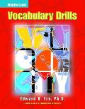 Vocabulary Drills Middle Level