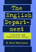 The English Department: A Personal and Institutional History
