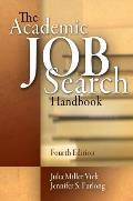Academic Job Search Handbook 4th Edition