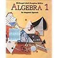 McDougal Littell High School Math: Student Edition Algebra 1 1995