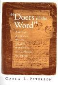 Doers of the Word African American Women Speakers & Writers in the North 1830 1880
