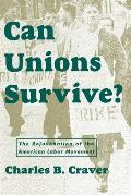 Can Unions Survive