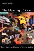 Meaning of Race Race History & Culture in Western Society