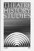 Theatre History Studies 1986, Vol. 6