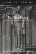For Strasbourg Conversations of Friendship & Philosophy
