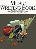 Music Writing Book
