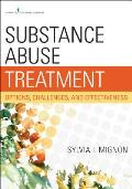 Substance Abuse Treatment Options & Effectiveness