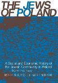 Jews Of Poland A Social & Economic Histo