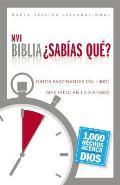 Biblia Sabias Que?-NVI: Datos Fascinantes del Libro Mas Leido en la Historia