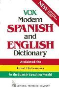 Vox Modern Spanish & English Dictionary