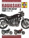 Kawasaki Zr550 & 750 Zephyr Fours '90 to '97