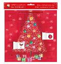 Bauble Tree Advent Calendar (with Stickers)