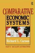 Comparative Economic Systems: V. 2